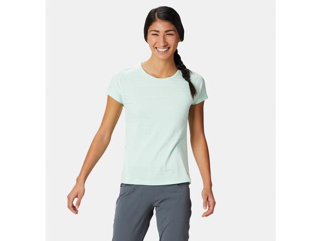 Mountain Hardwear W's Mighty Stripe SS T-Shirt Pristine
